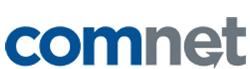 ComNet logo aligned to bottom