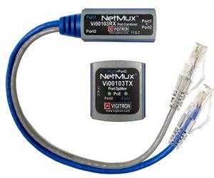 Vigitron Vi00103 NetMuxTM Ethernet and PoE Port Multiplexer